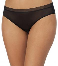 DKNY Black Glossy Bikini Underwear