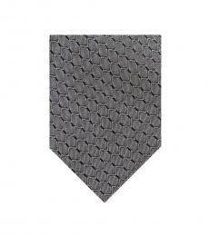 Grey Chevron Tie