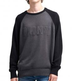 Forged Iron Embossed Logo Sweater