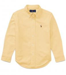 Ralph Lauren Little Boys Yellow Oxford Shirt