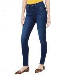 J.Crew Dark Blue High-Rise Skinny Jean
