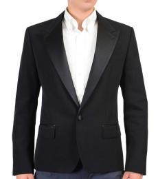 Dolce & Gabbana Black Tuxedo Blazer