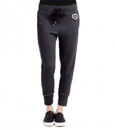 True Religion Black Skinny Sweatpants