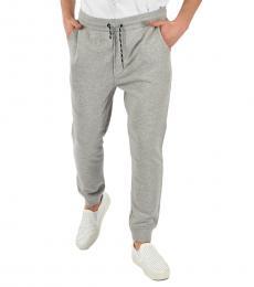 Grey Cotton Jersey Jogger