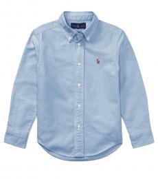Ralph Lauren Little Boys Blue Oxford Shirt