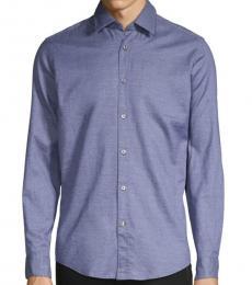 Blue Regular-Fit Shirt
