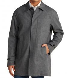 Michael Kors Charcoal Colin Slim Fit Raincoat