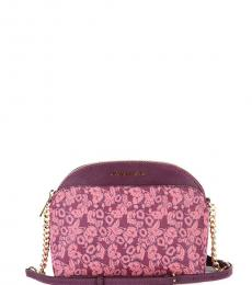 Damson Floral Emmy Small Crossbody