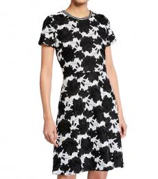 Karl Lagerfeld Multi color Lace A-Line Dress