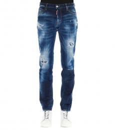 Dsquared2 Dark Blue Slim Fit Jeans