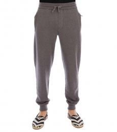 Grey Cashmere Gym Sport Pants