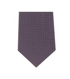 Michael Kors Grey Well Tailored Slim Silk Tie