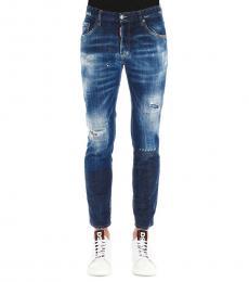 Dsquared2 Dark Blue Skater Classic Jeans