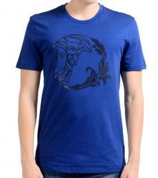 Versace Collection Blue Short Sleeve T-Shirt