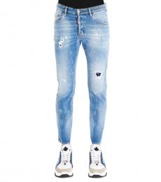 Dsquared2 Blue Skater Classic Jeans