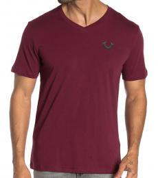 True Religion Cherry Front Logo T-Shirt