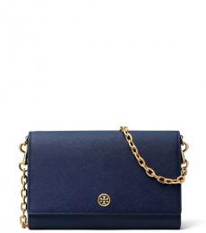 Tory Burch Royal Navy Robinson Small Crossbody