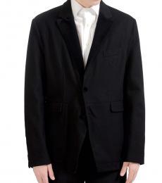 Dolce & Gabbana Black Two Button Blazer