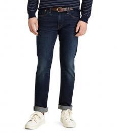 Ralph Lauren Blue Varick Slim Straight Jeans