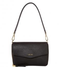 Calvin Klein Black Ava Medium Shoulder Bag