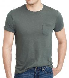 J.Crew Olive Slim Washed Jersey T-Shirt