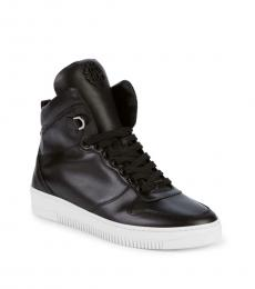 Black High-Top Sneakers