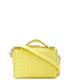 Yellow Gommino Mini Crossbody