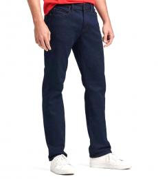 DKNY Dark Indigo Slim-Straight Jeanss