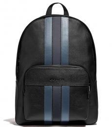 Coach Denim Midnight Houston Large Backpack
