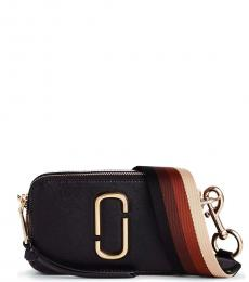 Marc Jacobs Black Brown Snapshot Small Crossbody