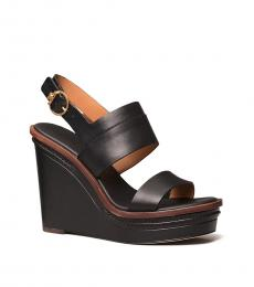Tory Burch Perfect Black Selby Wedges