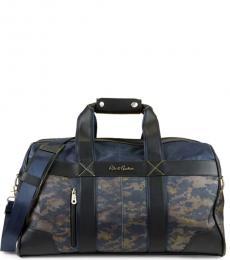 Navy Anson I Weekender Large Duffle Bag