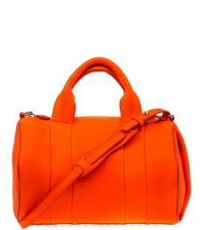 Alexander Wang Orange Rockie Large Satchel