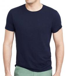 J.Crew Navy Blue Classic Fit Washed Jersey T-Shirt