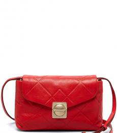 Marc by Marc Jacobs Red Circle In Square Small Crossbody
