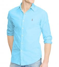 Ralph Lauren Blue Classic Fit Sport Shirt