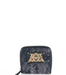 Juicy Couture Navy Blue Textured Wallet