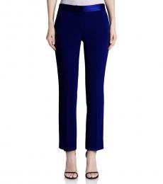 Navy Blue Soren Crop Pants