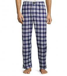 Calvin Klein Plaid Blue Pajama Pants