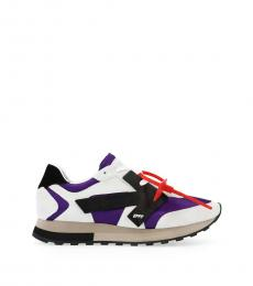 Off-White Multicolor Runner Sneakers