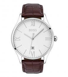 Hugo Boss Brown Governor Watch