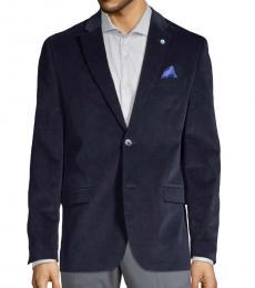 Ben Sherman Navy Blue Classic Notch Sportcoat