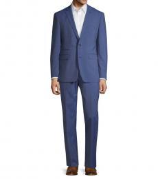 Vince Camuto Royal Blue Slim Stretch Suit