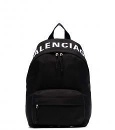 Balenciaga Black Wheel Small Backpack