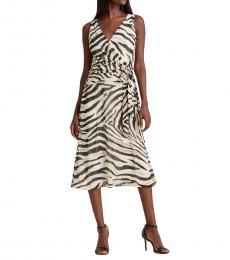 Ralph Lauren Multi color Print Georgette Dress
