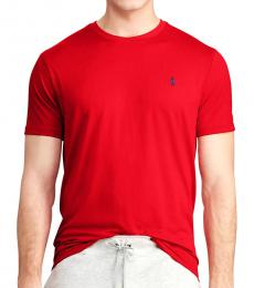 Ralph Lauren Red Performance Jersey T-Shirt
