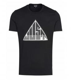 Black Graphic Logo T-Shirt