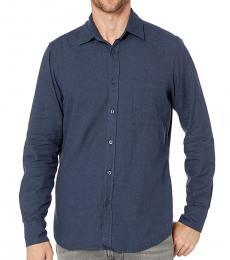 Hugo Boss Dark Blue Relegant Solid Shirt