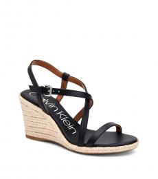 Calvin Klein Navy Bellemine Wedges