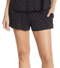 DKNY Black Soft Knit Sleep Boxers